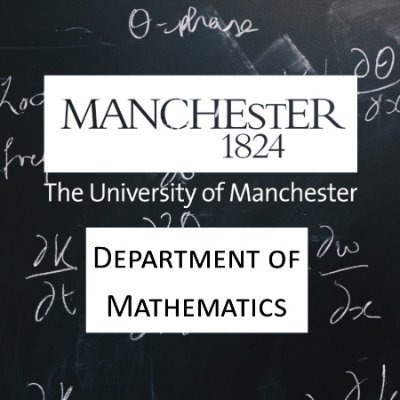 University of Manchester Department of Mathematics
