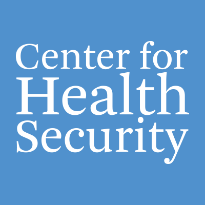 The Johns Hopkins Center for Health Security works to protect people's health from the consequences of epidemics and disasters. RTs not endorsement.