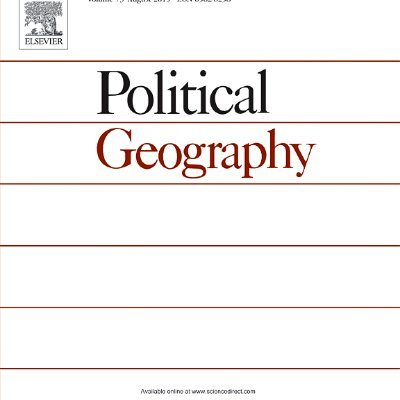 of geography journal political
