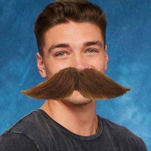 dean's mustache