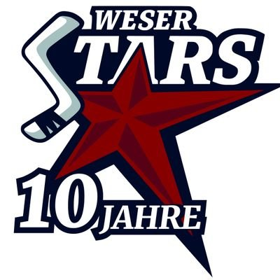 Weserstars Fanpak Weserstars Bremen Gameworn Trikot Home//rot Saison 2019//2020