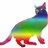 Rainbow cat normal