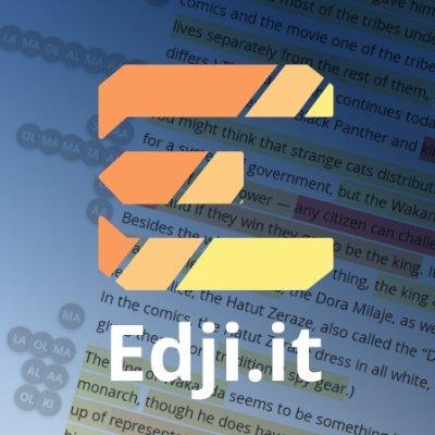 Edji.it (@EdjiNotes) Twitter profile photo