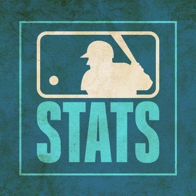 MLB Stats (@MLBStats) Twitter profile photo