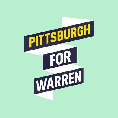 Pittsburgh For Warren (@PghForWarren) Twitter profile photo