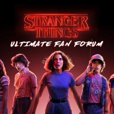Stranger Things Ultimate Fan Forum