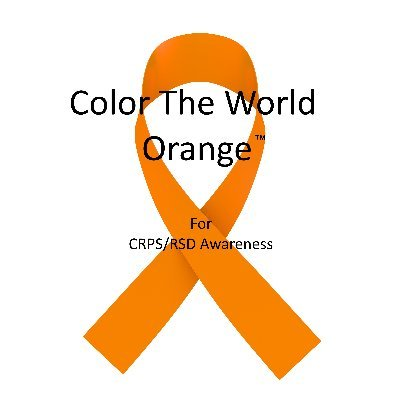 Color The World Orange™ for CRPS/RSD Awareness