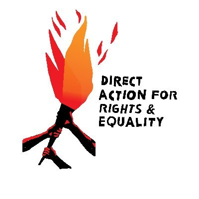 Direct Action for Rights & Equality (@darepvd) Twitter profile photo