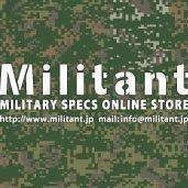 ミリタント 陸自専門店 Militant_staff