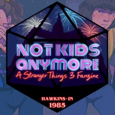 Not Kids Anymore: ST3 Zine @PREORDERS!