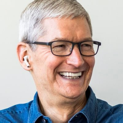 Why Won T Tim Cook Pose With His Own Airpods The Verge