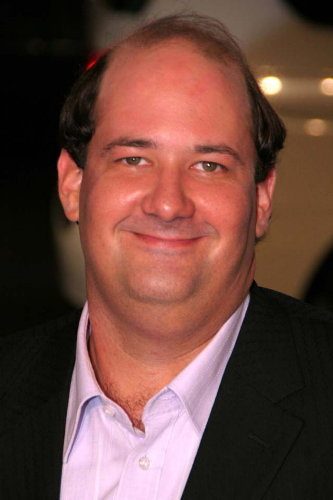 The 44-year old son of father (?) and mother(?), 190 cm tall Brian Baumgartner in 2017 photo