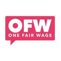 One Fair Wage