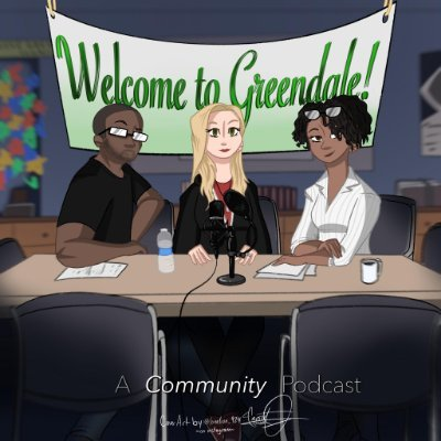 Michael and Jillian are long time fans of the cult classic Community. Sadia had never seen a single episode. New episodes released every Friday.