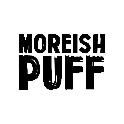 Image result for moreish puff aloe logo