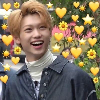 following every cute kpop stan