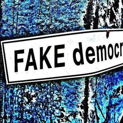 Αποτέλεσμα εικόνας για fake democracy