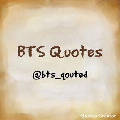 bts qoutes bts qouted twitter