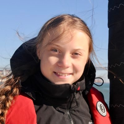 Greta Thunberg (@GretaThunberg )