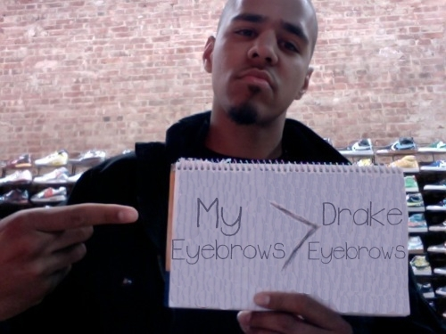 J Cole Eyebrows J. Cole Eyebrow...