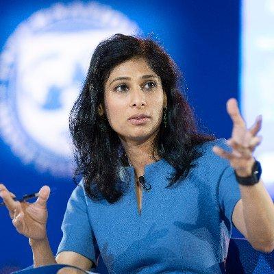 Gita Gopinath (@GitaGopinath) Twitter profile photo