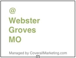 Webster Groves MO (@WebsterGrovesMO )