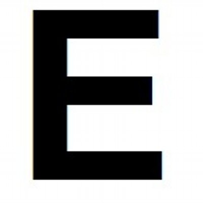 big letter e biglettere twitter With big letter e