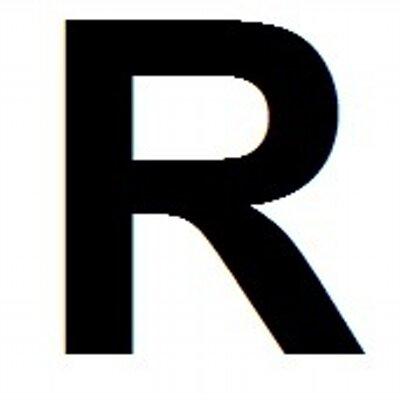 big letter r bigletterr twitter With giant letter r