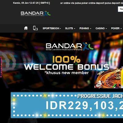 Bandarxl Situs Judi Deposit Pulsa Bonus Slot 100 Situsjudipulsa Twitter