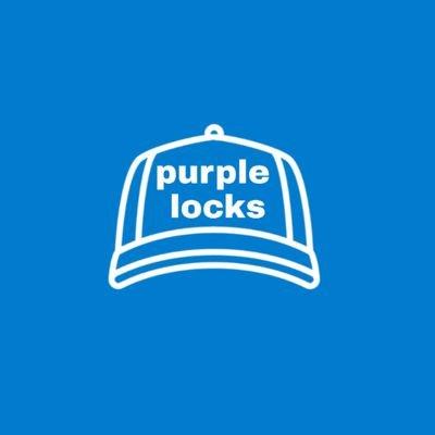• purple locks •