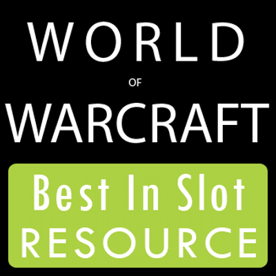 best in slot wow 6.0.3