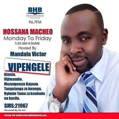 Victor Mandala Biblia Husema Broadcasting Journalist Muck Rack