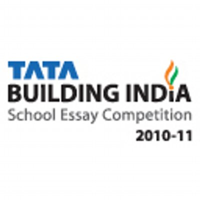 tata building india essay The tata building india school essay competition is one of the key initiatives undertaken by the tata group of companies to motivate the youth of our country towards nation building, this competition took place for the students of class 6 to 12 across all school boards and language mediums.
