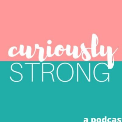 Curiously Strong Podcast (@CuriouslyPod) Twitter profile photo