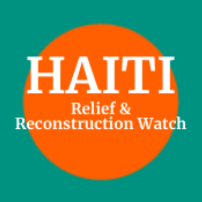 A @ceprdc blog tracking multinational relief and reconstruction efforts in Haiti.