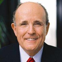 Rudy W. Giuliani (@RudyGiuliani )