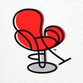 Remington Red Chair | Social Profile