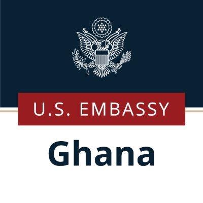 U.S. Embassy Ghana (@USEmbassyGhana) Twitter profile photo