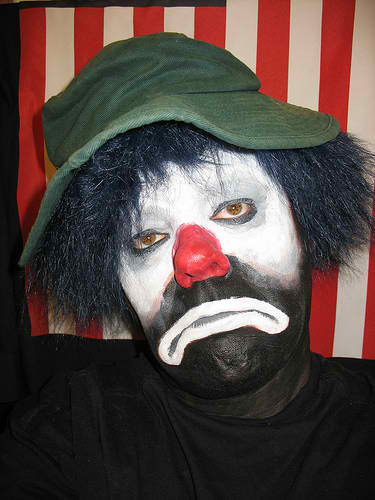 The Little Sad Hobo Clown