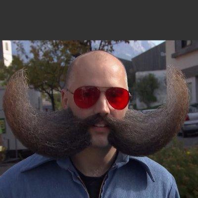 Moustachioed Douche