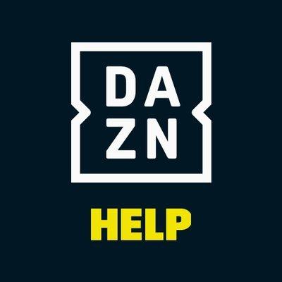 DAZN ダゾーン ヘルプ