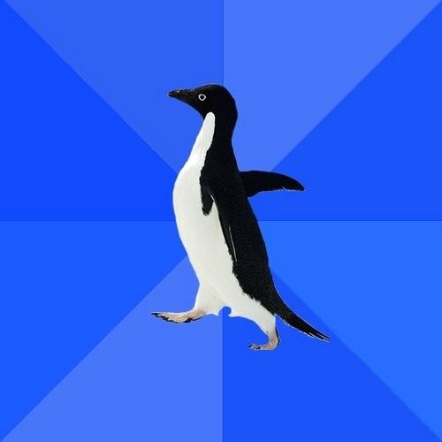 логотип пингвин: