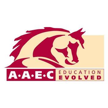 Arizona Agribusiness & Equine Red Company Logo