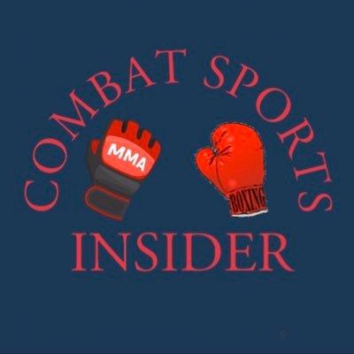 Combat sports insider