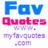 MyFavQuotes twitter profile