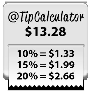 calculate tip