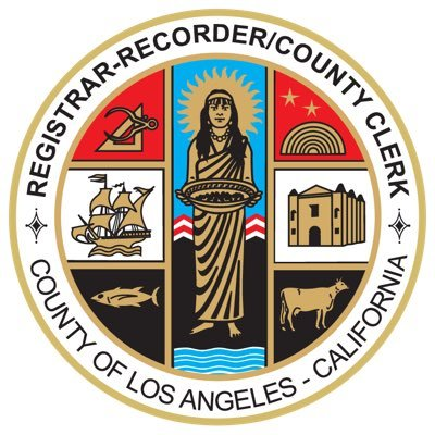 Los Angeles County Registrar Recorder County Clerk Lacountyrrcc Twitter