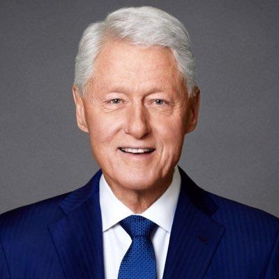 Bill Clinton (@BillClinton) Twitter profile photo
