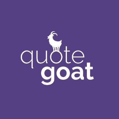 @GoatThatQuotes