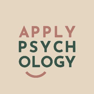 psychology at work (@applypsychology) Twitter profile photo